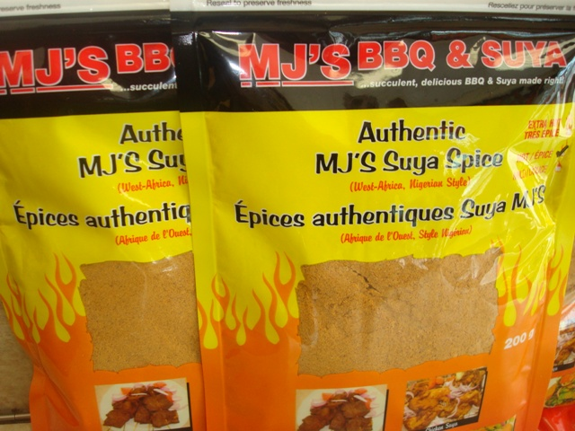 MJ's Authentic Suya Spice
