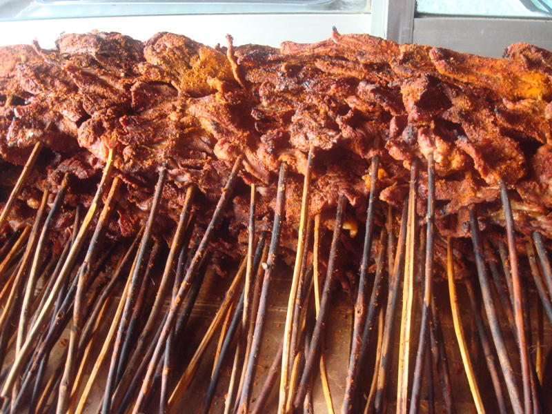 MJ's Skewered Beef Suya